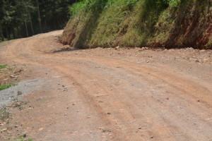 Earth road Dam redhill