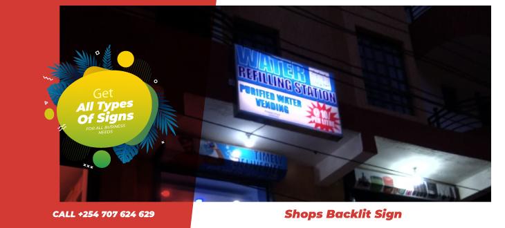 Shop sign makers Nairobi