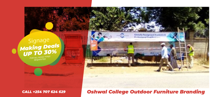 Bus shelters branding services