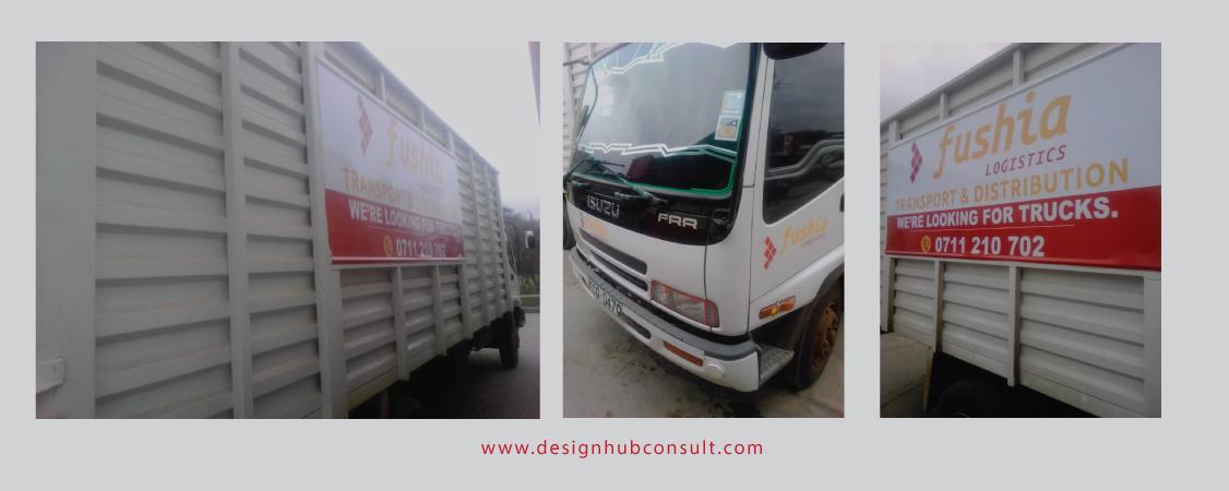 Truck branding cost Nairobi