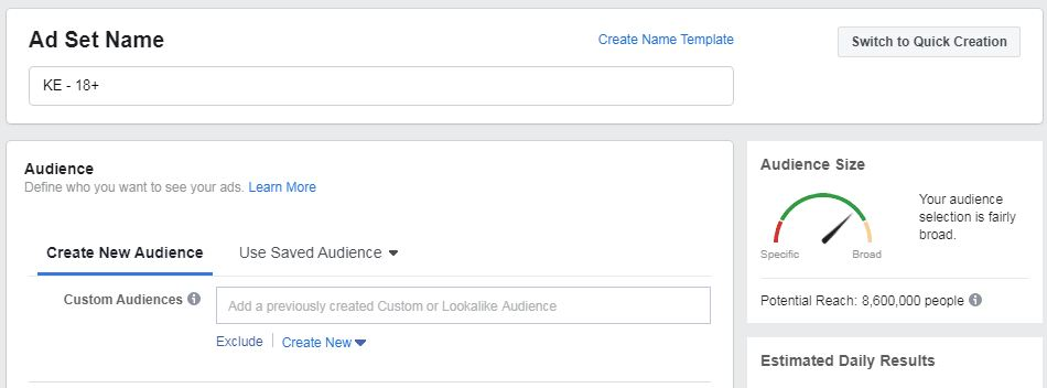 How to set up Facebook Ad account
