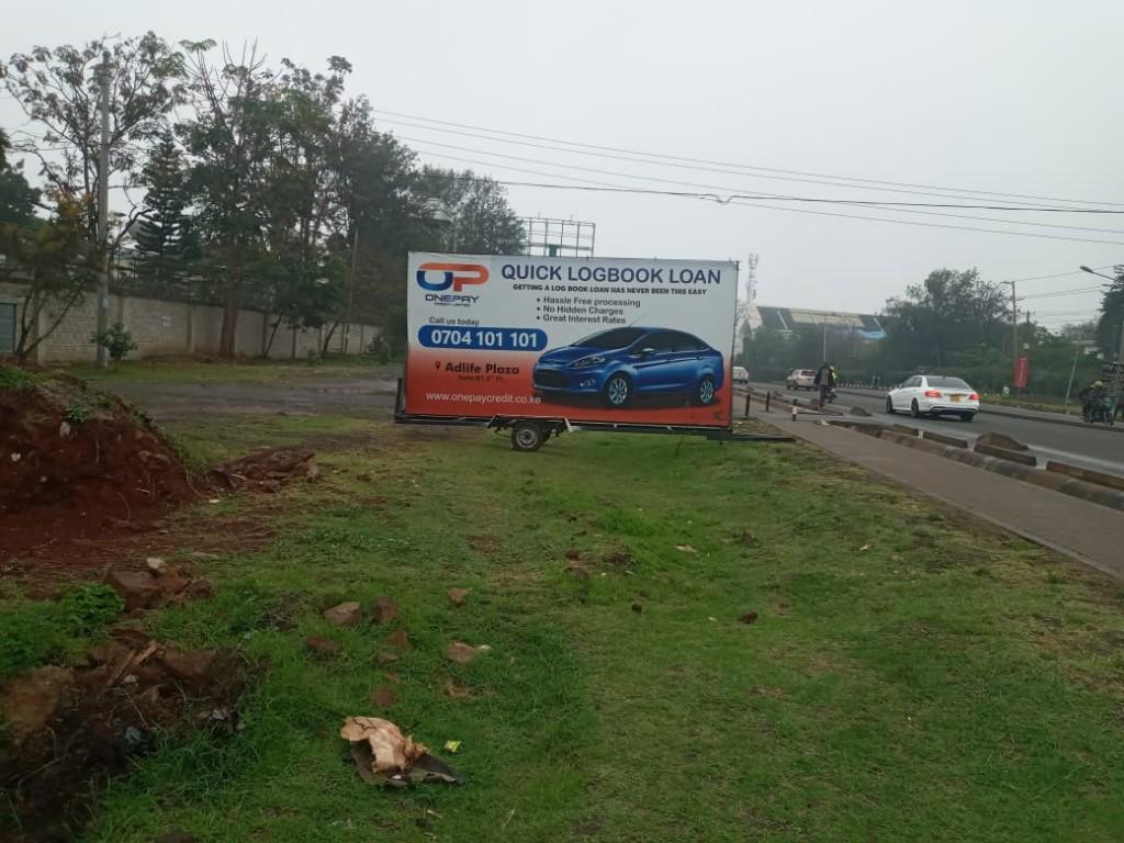 Billboard branding company Kenya