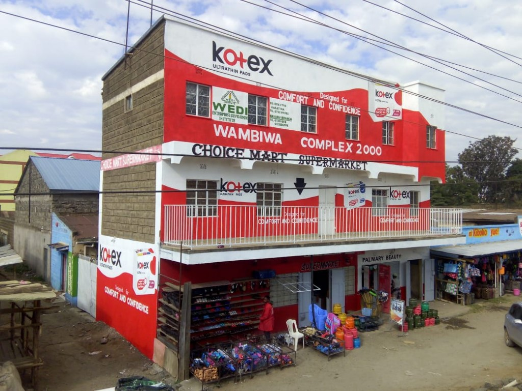 Best Wall branding Company Nairobi